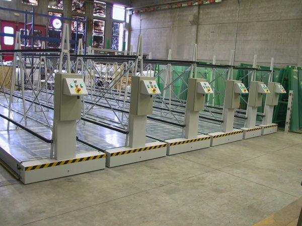 magazzino automatico compattabile ILMAG pesante