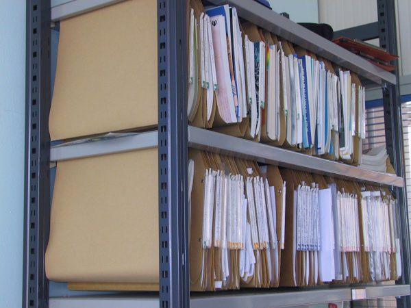 scaffale archivio ILMAG