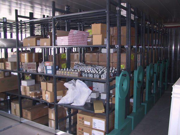 scaffale magazzino compattabile ILMAG pesante